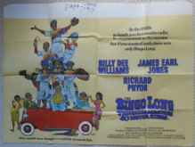 Bingo Long Travelling All-Stars & Motor Kings, Original UK Quad Poster, Host of Stars!, '76